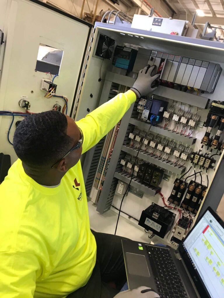 PLC upgrade on regenerative thermal oxidizer