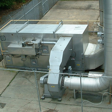 Used catalytic recuperative oxidizers for sale