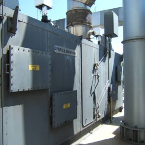 Used Durr MEGTEC Millennium 8,000 Regenerative Thermal Oxidizer (RTO) for sale, with 8,000 scfm capacity