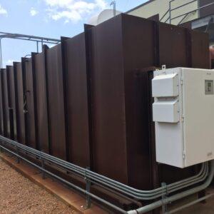 CECO Adwest Retox Used Regenerative Thermal Oxidizer (RTO) with 7,500 scfm capacity