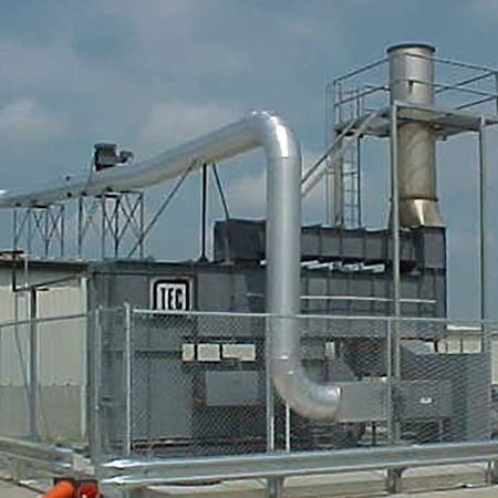 Used thermal oxidizers for sale
