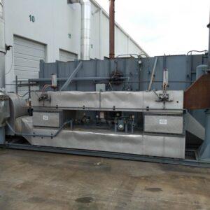 CECO Adwest 6000 Retox Used Regenerative Thermal Oxidizer (RTO) with 6,000 scfm capacity