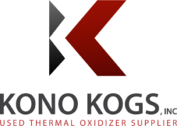 Kono Kogs Used Thermal Oxidizer Supplier Logo