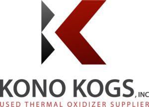 Kono Kogs Used Thermal Oxidizer Supplier Logo