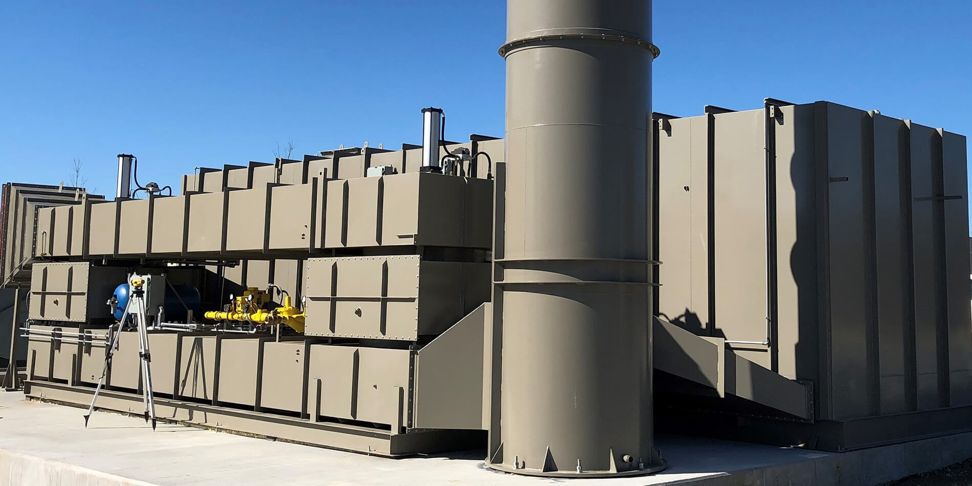 Used regenerative thermal oxidizer