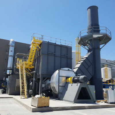 regenerative thermal oxidizer for metal coating company