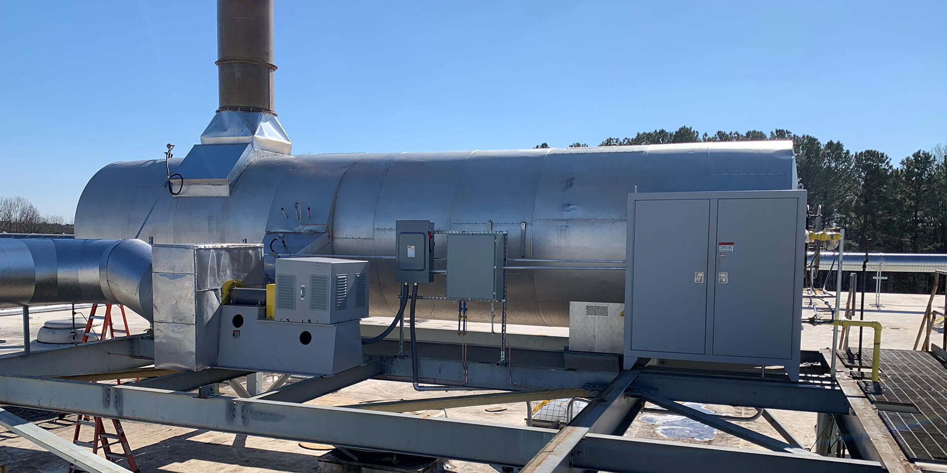 used thermal oxidizer for sale