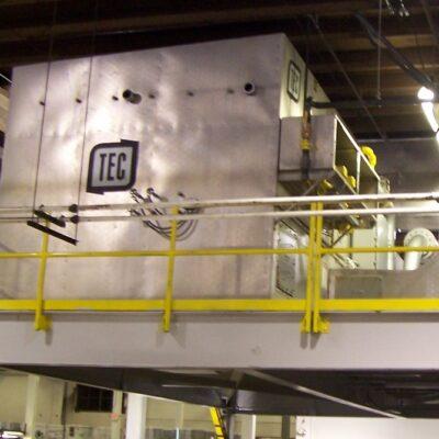 Low maintenance catalytic recuperative oxidizer