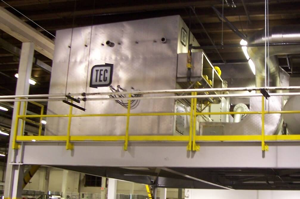 used catalytic oxidizer for sale