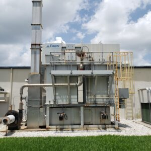 TANN Corp. Used Regenerative Thermal Oxidizer (RTO) 5,000 scfm for sale