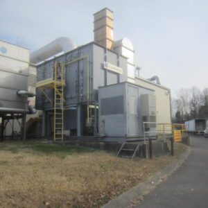Used MEGTEC Durr Clean Switch Regenerative Thermal Oxidizer (RTO)