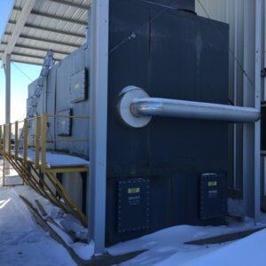 MEGTEC Systems Millennium 8000 scfm Used Regenerative Thermal Oxidizer (RTO) with puff